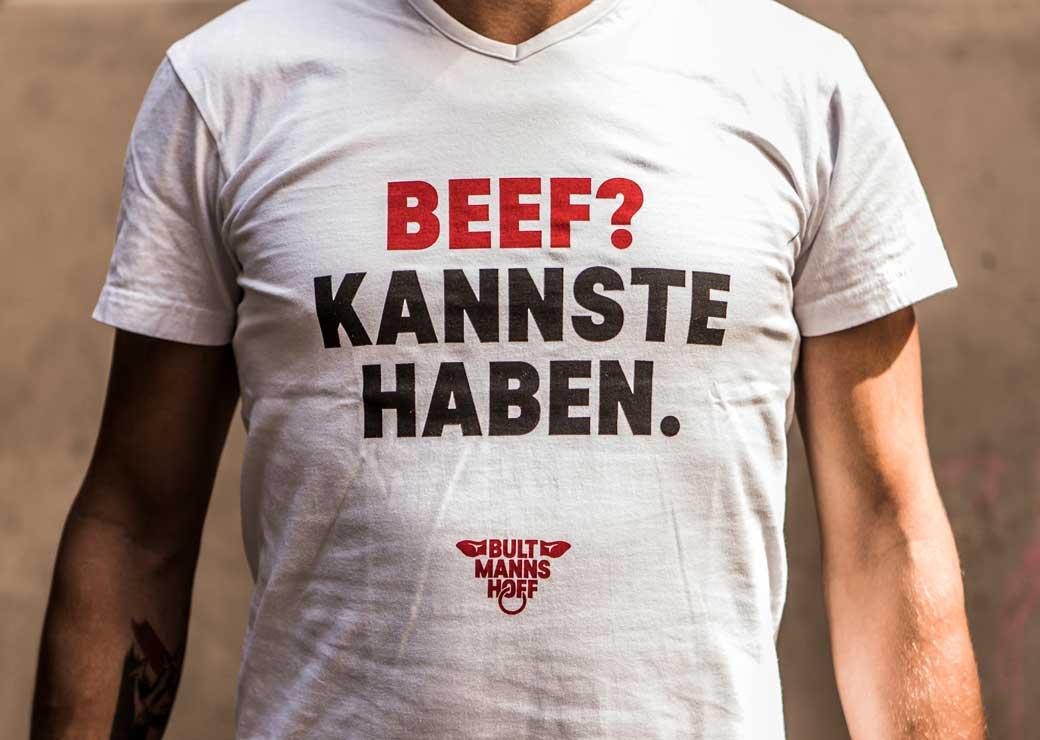 ZN Case: Bultmanns Hoff, T-Shirt mit Aufdruck