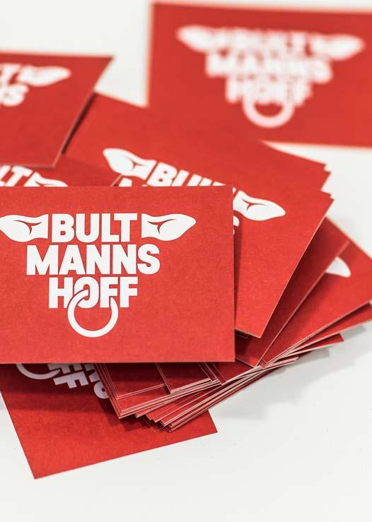 ZN Case: Bultmanns Hoff, Visitenkarten