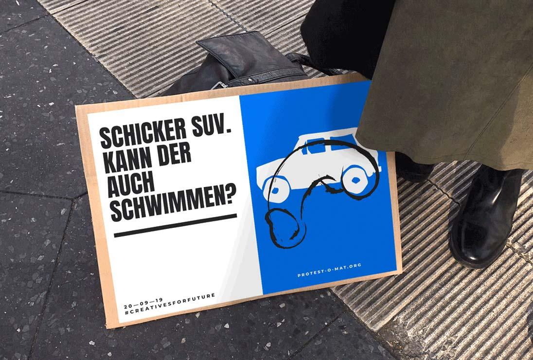 ZN Original: Der Protest-O-Mat Protestmotiv