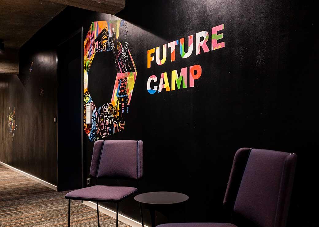 ZN Case: Accenture Wall Murals Zeche Zollverein