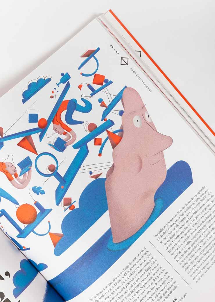 Zentralnorden Magazin Detailbild: Illustration